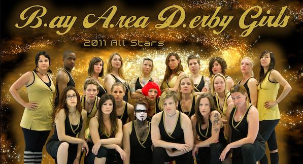 Bay Area Derby Girls 2011 All Stars