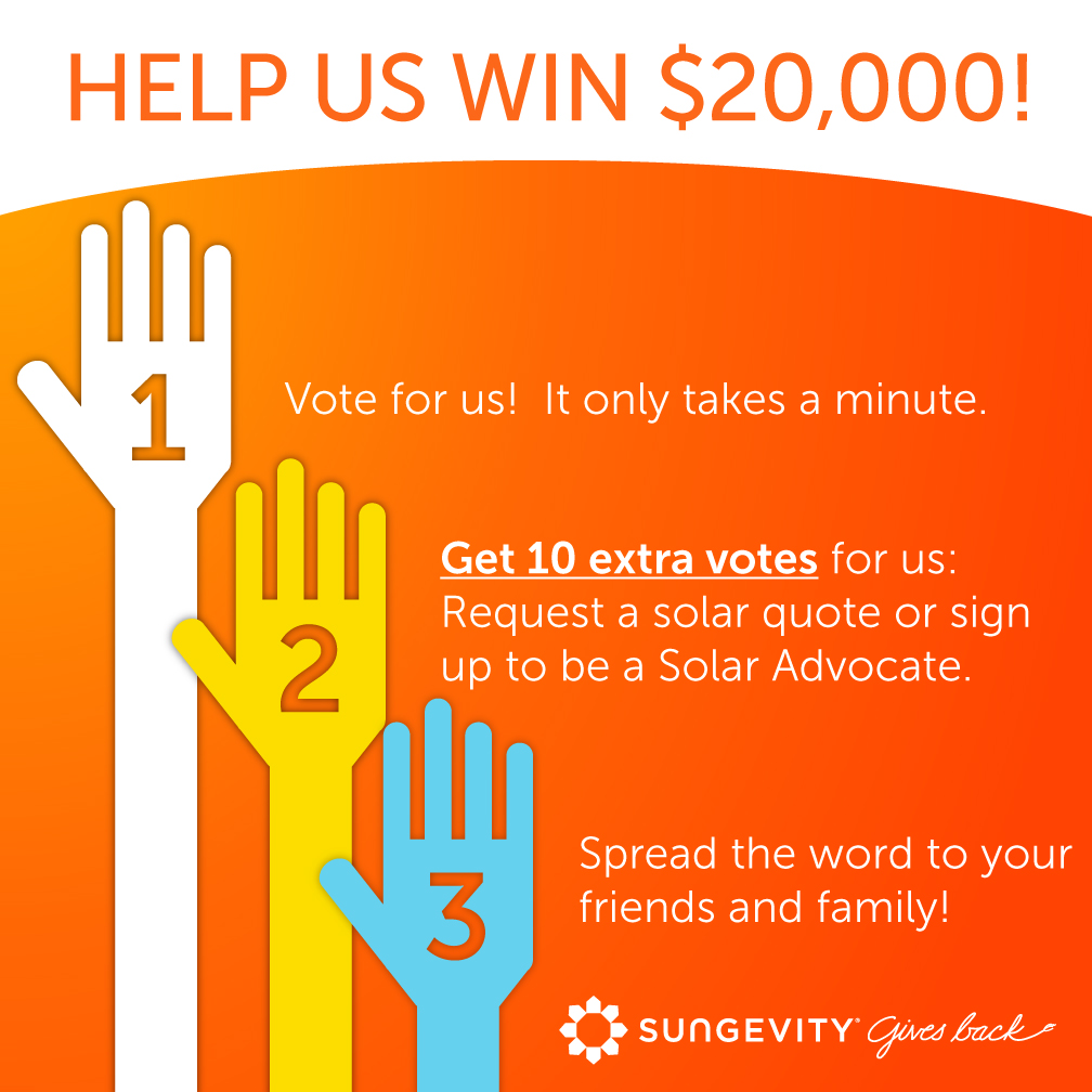 Sungevity Gives Back